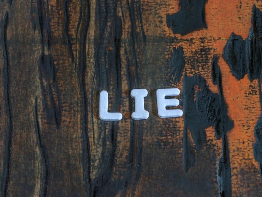 telling lies concept