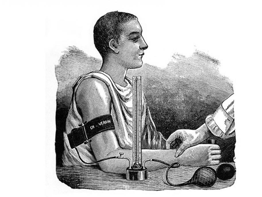 Scipione Riva-Rocci's sphygmomanometer