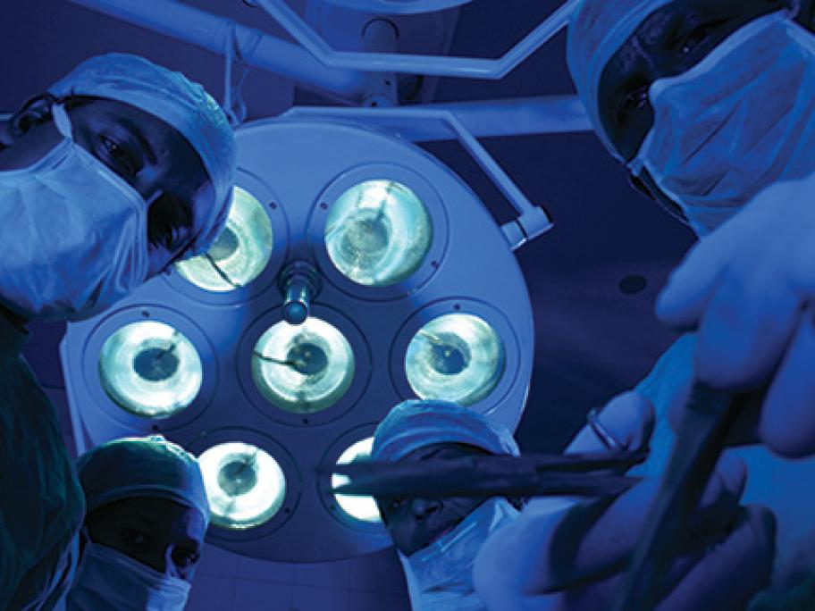 Operating theatre lights