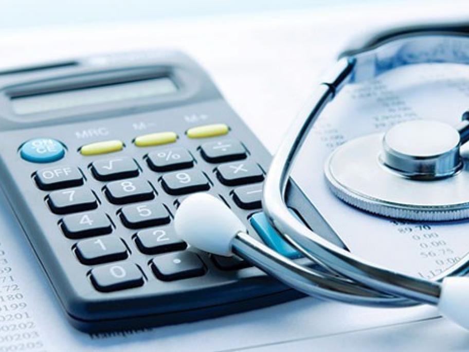 Calculator_Stethoscope_Finance_Money