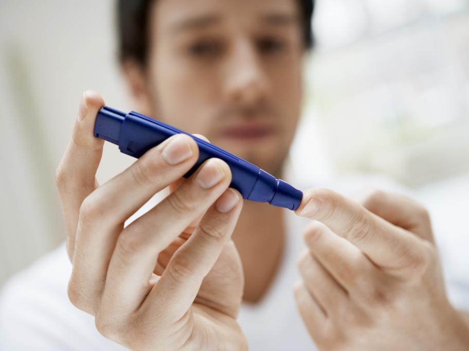 Blood test for glucose levels